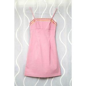 Dresses & Skirts - ❇️Vintage 90s Canvas Style Dress w/ Sequins Trim❇️